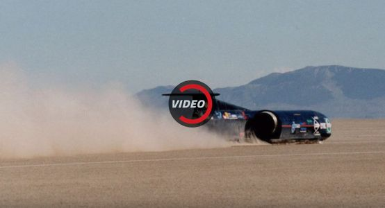 What's It Like Driving Faster Than The Speed Of Sound?