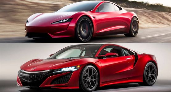 Car Design Student Thinks Tesla Copied Acura's NSX, What Do You Say?