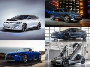 2019 LA Auto Show Audi Volkswagen Porsche Lexus Karma and Faraday Future Cars From Day 1