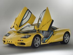 1997 Dandelion Yellow McLaren F1 For Sale With Delivery Mileage