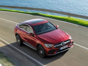 2020 Mercedes Benz GLC Coupe India Launch On March 3 To Get Non AMG Versions Too