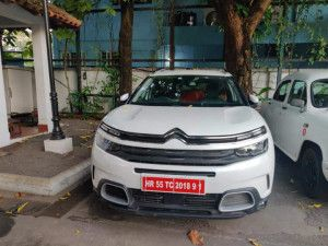 Upcoming Citroen C5 Aircross SUV Spotted In India Ahead Of Launch