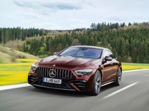 Facelifted Mercedes-AMG GT 4-Door Coupe Breaks Cover