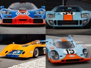 Iconic Gulf Oil Racing Liveries In Motorsport