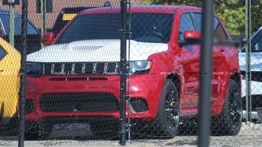 Is This A Demon Powered Jeep Grand Cherokee Trackhawk?