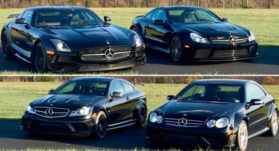 Buy This Entire AMG Black Series Collection In Florida