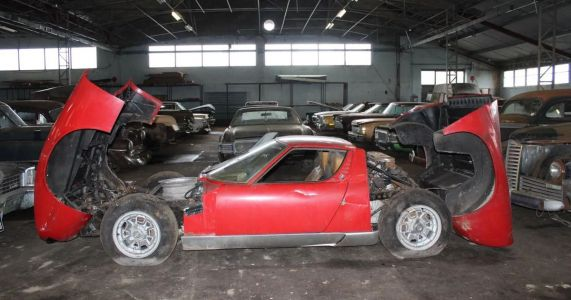 An 81-Car Barn Find Is Headed For Auction With Prices Starting At £50