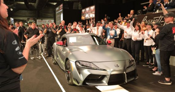 Someone Bought The First 2020 Toyota Supra For $2.1 Million